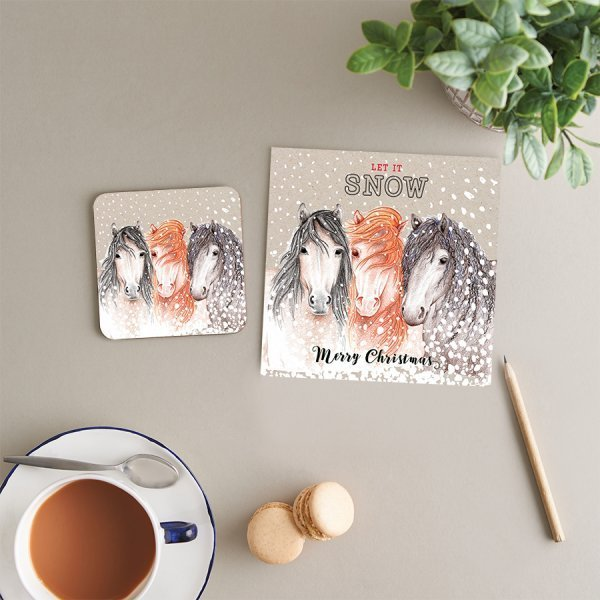 Christmas Coasters & Cards